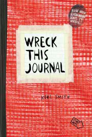 Wreck This Journal: Red (Paperback)
