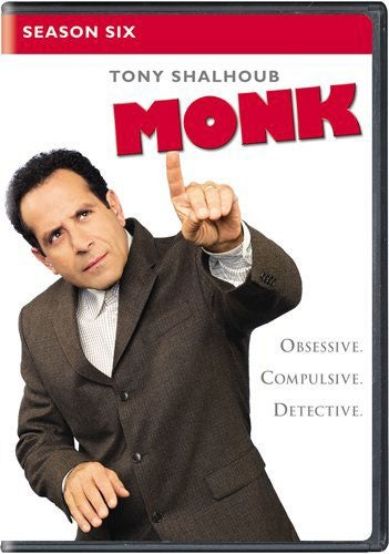 Monk: Season Six (DVD) - Thumbnail 0