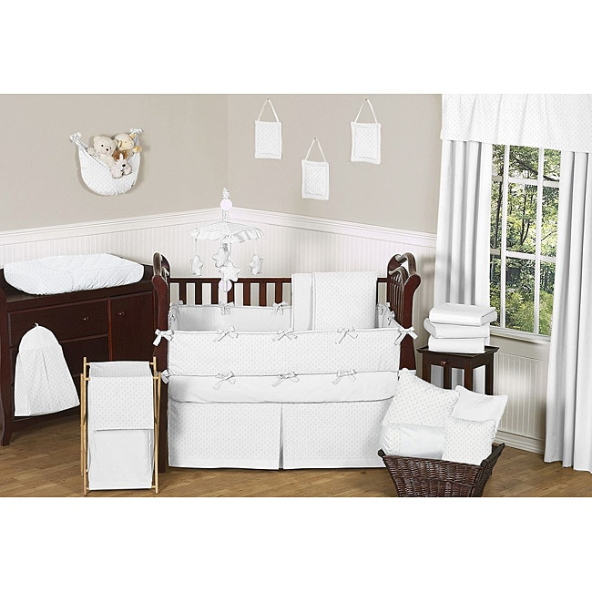 piece grey and bedding crib bumper oregonslawyer org set sets white chevron elephant cribs amazon boy baby