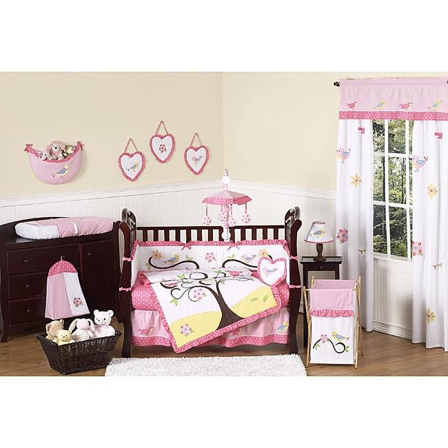 Sweet Jojo Designs Song Bird 9-piece Crib Bedding Set