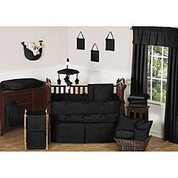 Sweet Jojo Designs Black Diamond 9-piece Crib Bedding Set