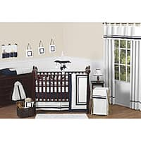 Sweet Jojo Designs Hotel 9-piece Crib Bedding Set in Navy