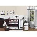 Sweet Jojo Designs Hotel 9-piece Crib Bedding Set in Navy