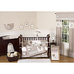 Sweet Jojo Designs Little Lamb 9-piece Crib Bedding Set