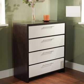 Simple Living Four-Drawer Contemporary Chest