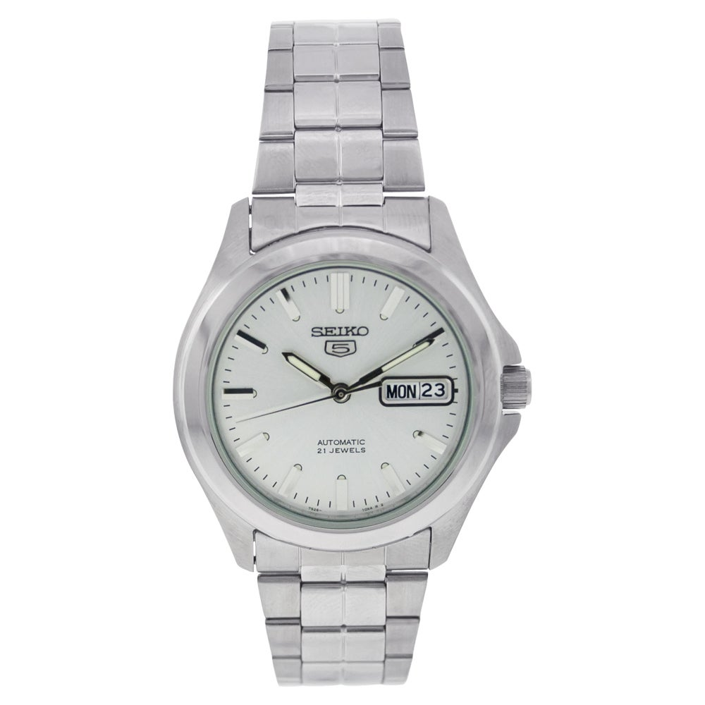 Seiko 5 Men's SNKK87K1 Silver Watch