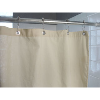 Natural Cotton Shower Curtains