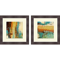 Michael Marcon 'Boardwalk Fun I & II' Framed Print