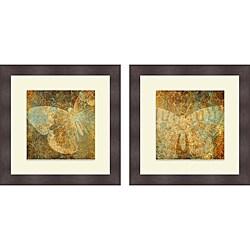 Elizabeth Medley 'Inspire I & II' Framed Print