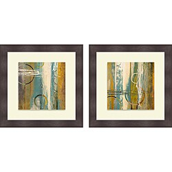 Michael Marcon 'Earthbound I & II' Framed Print