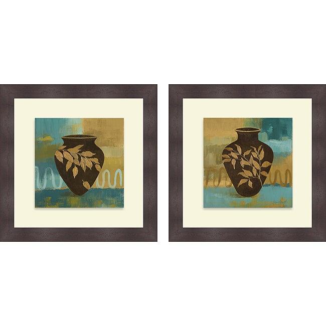 Lanie Loreth 'Hidden Treasure I & II' Framed Print