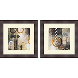 Michael Marcon 'Liberate Square I & II' Framed Print