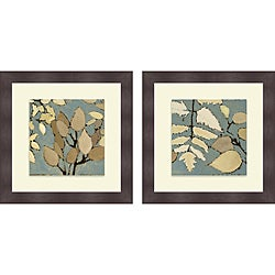 Lanie Loreth 'Spring Square I & II' Framed Print
