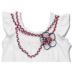 Beetlejuice London Girls' Ruffle Sleeve Bubble Hem Dress - Thumbnail 1