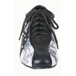 Bolaro by Beston Women's Black Printed Sneakers - Thumbnail 2