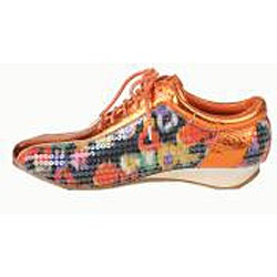Bolaro by Beston Women's Coral Printed Sneakers - Thumbnail 1