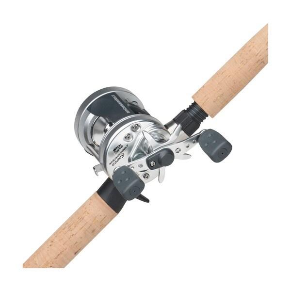 Abu Garcia Ambassadeur 'S' 6'6 Medium Heavy Fishing Pole Combo