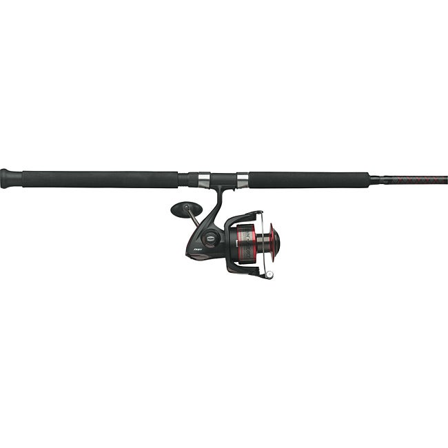 Penn Fierce Spinning 4+1 Stainless Steel Bearings Fishing Pole Combo