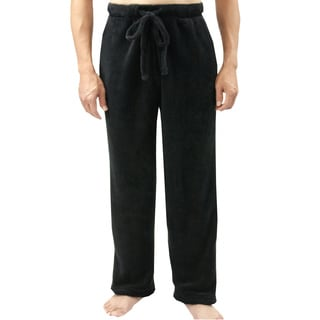 Leisureland Men's Fleece Pajama Lounge Pants