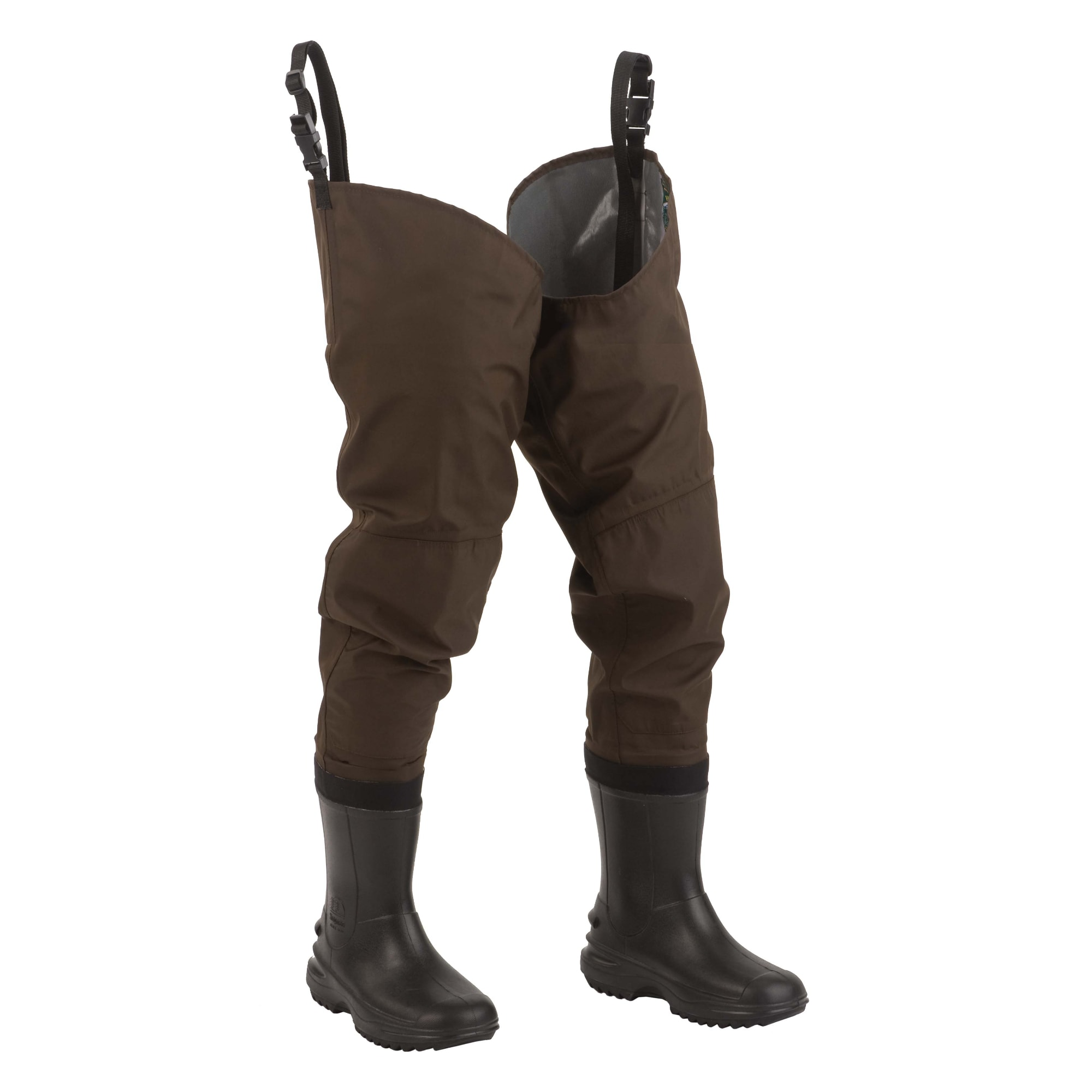 Hodgman Redstone Brown Polyester/Tricot Mesh Cleated Hip Wader