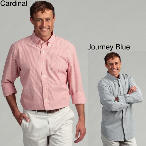 Nautica Men's Stripe Woven Shirt