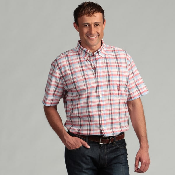 Nautica Men's Plaid Woven Shirt