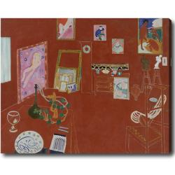 Henry Matisse 'The Red Studio' Hand-painted Oil on Canvas