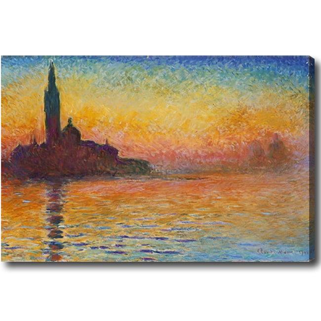Claude Monet X27 San Giorgio Maggiore At Dusk Hand