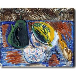 Raoul Dufy 'Still Life' Abstract Hand-painted Oil on Canvas