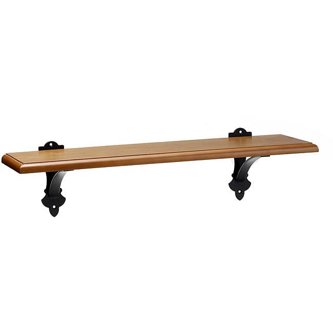 Mellanco 31-inch Dark Oak Finish Shelf