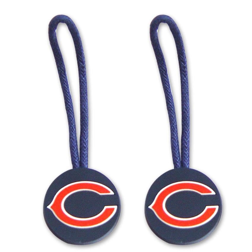 NFL Chicago Bears Zipper Pull/ Luggage Tags (Set of 2)