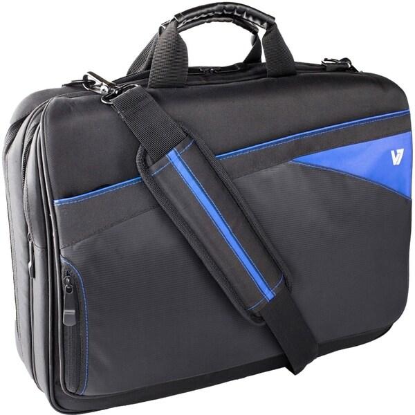 "V7 Edge CTD1 Carrying Case for 16.1"" Notebook - Blue, Black"
