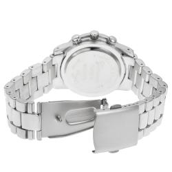 Geneva Platinum Women's Chronograph-style Link Watch - Thumbnail 1