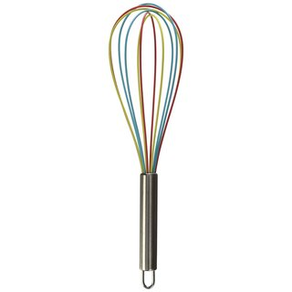 3-piece Tri-color Silicone Whisk Set