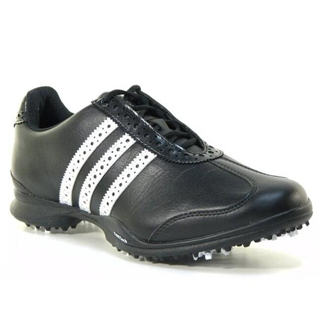 Adidas Women's Driver Val Sport Black/ White Golf Shoes
