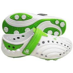 Dawgs Women's 'Spirit ' Lime Golf Shoes