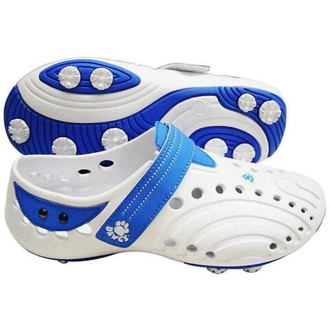 Dawgs Women's 'Spirit ' Blue Golf Shoes