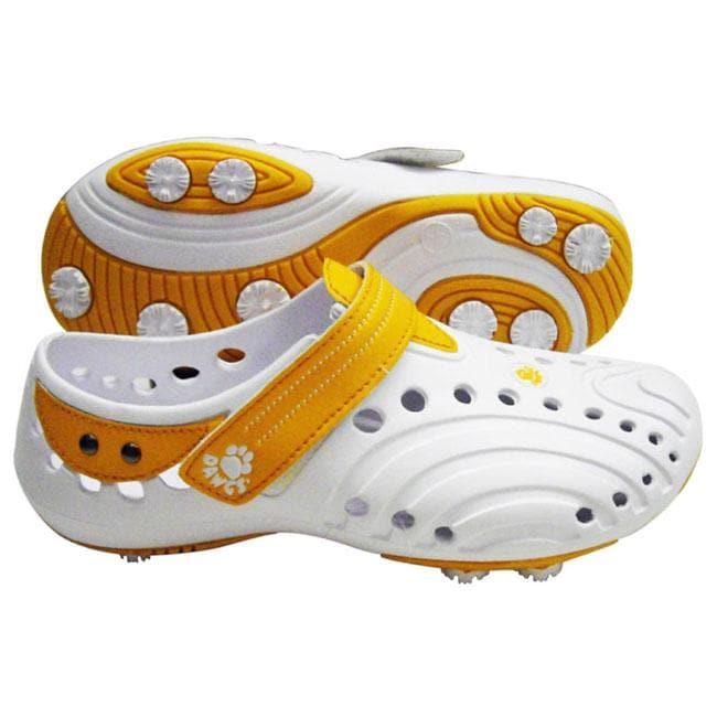 Dawgs Women's 'Spirit ' Orange Golf Shoes