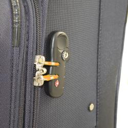American Green Travel Grey 3-piece Expandable Spinner Luggage Set with TSA Lock - Thumbnail 1