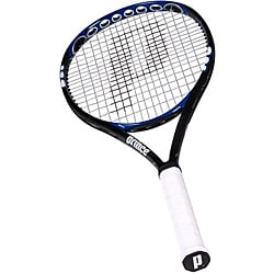 Prince O3 Hybrid Shark Oversize Graphite Tennis Racquet with Cover - Thumbnail 0