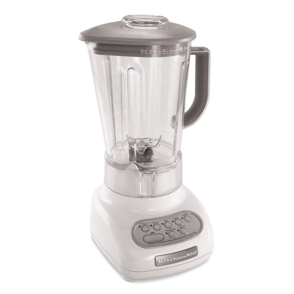 KitchenAid RKSB560WH 5-speed Blender with BPA-Free Pitcher (Refurbished)