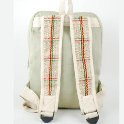 Rasta Hemp/ Cotton Backpack (Nepal) - Thumbnail 1