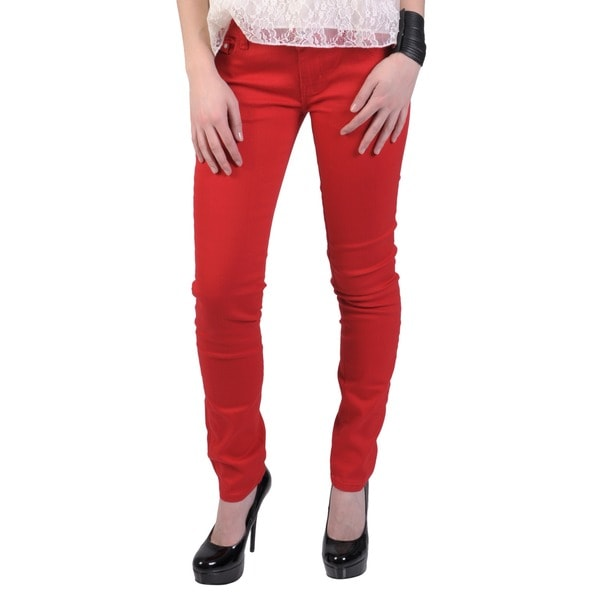 Hailey Jeans Co. Juniors' Cotton/Spandex Stretch Skinny Jeans