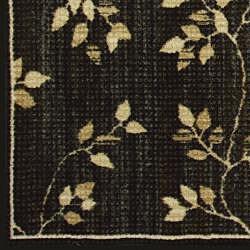 Somette Avante Garden Elegance Charcoal Rug (5' x 7')
