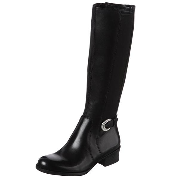 Naturalizer Women's 'Arness' Black Wide Calf Boots