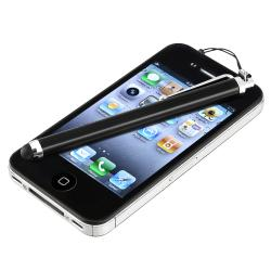 INSTEN Black Touch Screen Stylus for Apple iPhone/ iPad/ iPhone