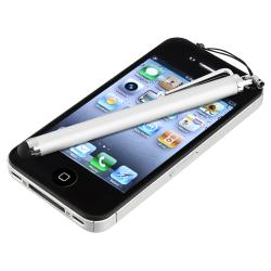 INSTEN Silver Touch Screen Stylus for Apple iPhone/ iPad/ iPhone