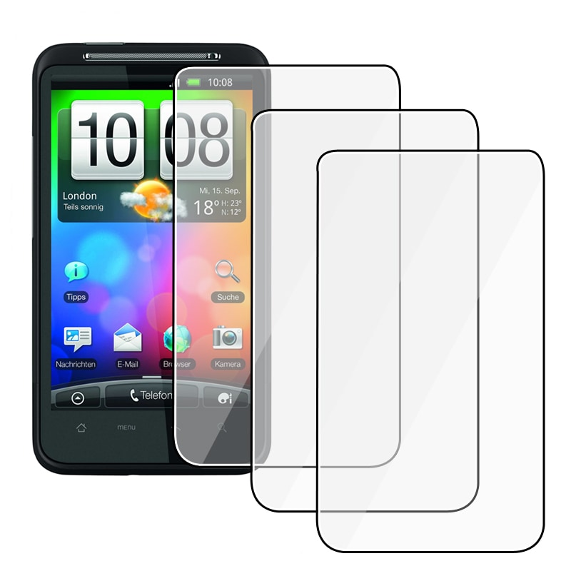INSTEN Clear Screen Protector for HTC Desire HD (Set of 3)