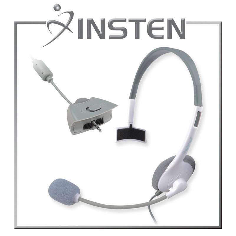 INSTEN White Headset for Microsoft xBox 360