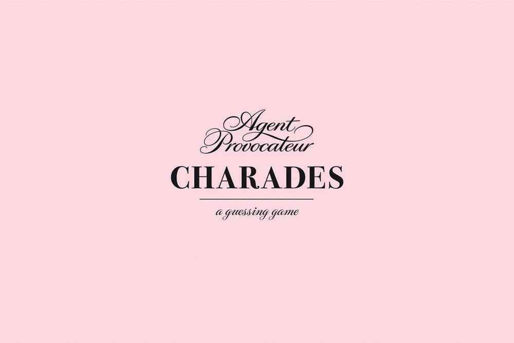 Agent Provocateur Charades: A Guessing Game
